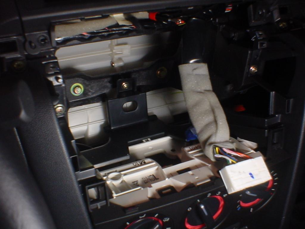 How To Disconnect The Mazda 3 Car Stereo Wiring Harness Libraryhow
