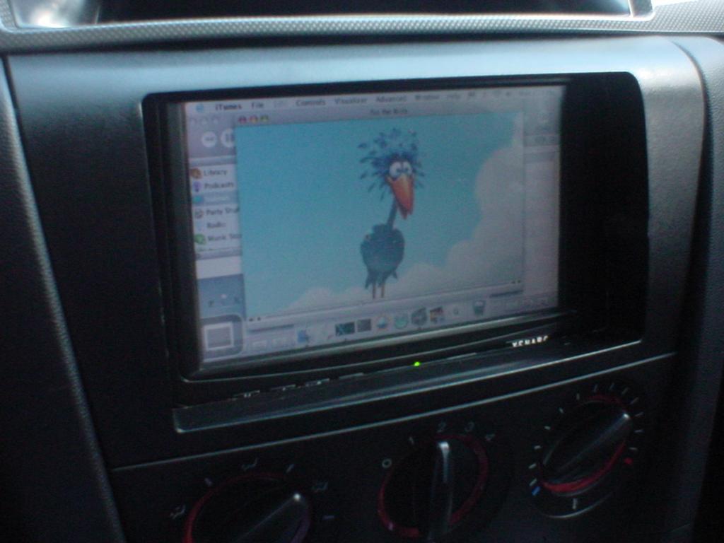 Mac Mini Carputer Install - Mazda 3